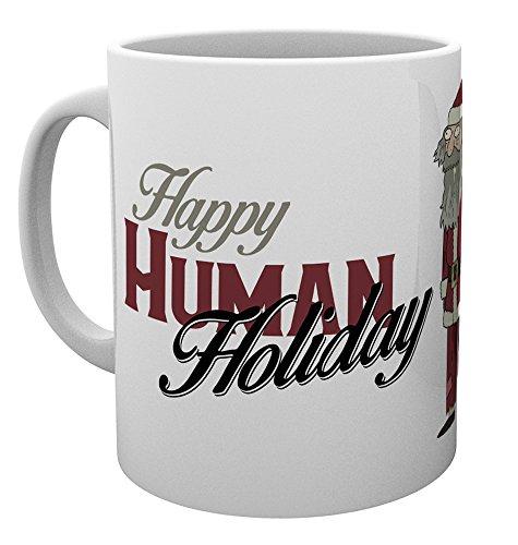 GB Eye LTD, Rick y Morty, Felices vacaciones humanas, Taza