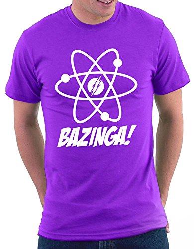 The Big Bang Theory Atomic T-shirt Lila