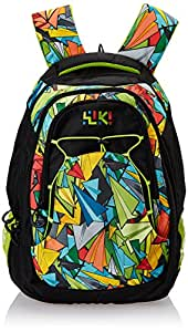 Wildcraft Wiki Daypack Polyester 36 liters Black Laptop Bag (8903338049104)