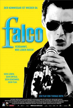 falco poster Poster 'Falco: Damn It, We're Still Alive! - German Style', Größe: 69 x 102 cm