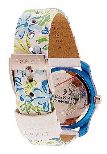 Esprit Mädchen Armbanduhr Datum klassisch Quarz Leder ES108344002 - 2