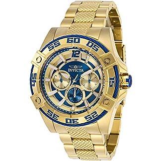 Invicta Bolt Reloj de Mujer Cuarzo 43mm Correa y Caja de Acero 29293