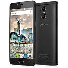 "Doogee Shoot 1 - 4G Smartphone Libre Android 6.0 (Pantalla FHD 5.5"", 1.5GHz MT6737T Quad Core, 2GB RAM 16GB ROM, Dual Cámara 13.0MP+8.0MP, Touch ID, OTA, Carga Rápida, Dual SIM) (Negro)"