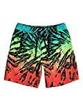 Quiksilver Jungen Badeshorts Glitchedvlyou 15 B, Fiery Coral, XL