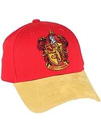 Cotton Division Gorra de Béisbol de Harry Potter Escudo de Gryffindor Rojo  Amarillo dd614d3140f
