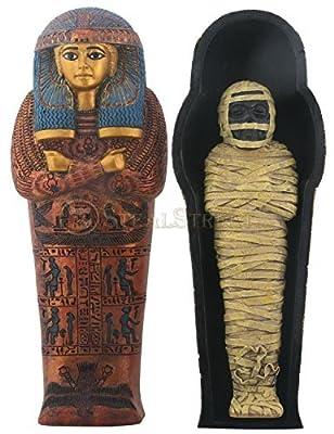 Egyptian Sarcophagus of Maatkara Box Display Decoration