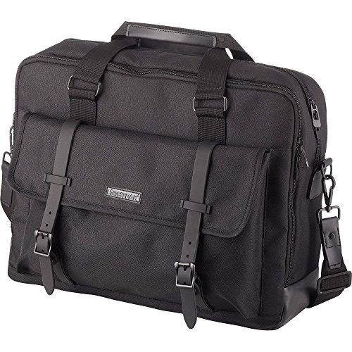 Preisvergleich Produktbild Lightpak Laptoptasche Twyx für 15 Zoll Notebooks,  Umhängetasche aus 600D Polyester mit Organizer-Fach Sporttasche,  40 cm,  Schwarz