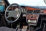 MERIC Cockpit Dekor (CD-WU00365) Exclusive 3D Ausführung, 11 Teile, Farbe: Wurzelholz