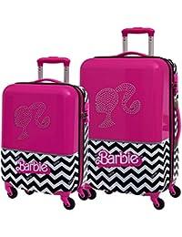 Mattel Barbie Dream Set de Bagage, 55 cm, Rose