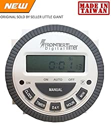 Multipurpose Programmable Digital Timer Time Switch With Lcd-4 Pin