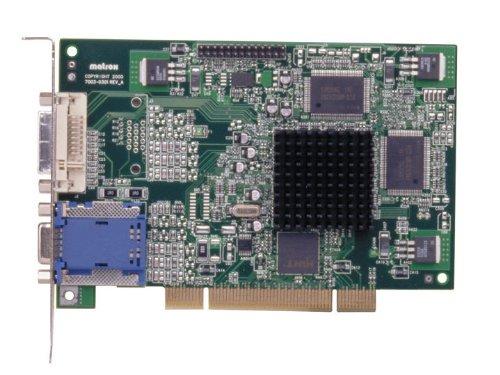 Matrox Computer-grafikkarten (Matrox G450 Passiv Grafikkarte (PCI, 32MB DDR2 Speicher, DVI/VGA or VGA/VGA display, 1 GPU))