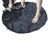 Jinxuny Jinxuny Wetsuit Bag Neoprenanzug Change Mat Bag Surfzubehör Mat Dry Carry Bag Wasserdichter Neoprenanzug Wickelmatte zum Surfen, Schwimmen, Wassersport