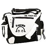 Siawasey Japanische Anime Cosplay Handtasche Rucksack Messenger Bag Umhängetasche, One-Punch Man2