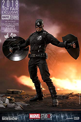 Hot Toys Movie Masterpiece - Marvel Studios First Ten Years - Captain America Concept Art Version