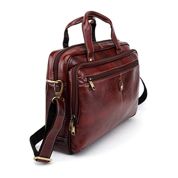 WildHorn Leather Laptop Messenger Bags, Dimension : L-15 inch W-2.5 inch H-11.5 inch