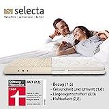 Selecta L4 Matratze medium Waschbezug S860 160x200