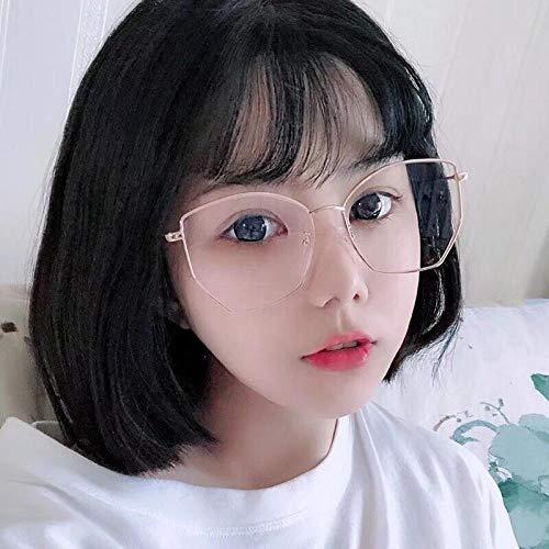 Sonnenbrille Männer und Frauen Polygon Gesicht kleine Mode kann mit Myopie Brille Trend Brille Outdoor-Sportarten Reiten Fahrspiegel-6 ausgestattet werden