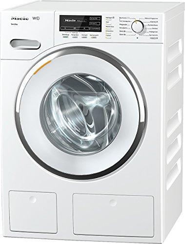 Miele WMG820WPS D LW TDos Waschmaschine FL / A+++ / 176 kWh / 1600 UpM / 8 kg / 9900 L / Strom- oder Trinkwasser sparen mit Allwater / Flüssigwaschmittel auf Knopfdruck - TwinDos / lotosweiß