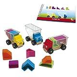 Smart - Trucky 3, juego de ingenio de madera con retos (51557)