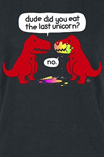 Goodie Two Sleeves The Last Unicorn T-shirt Femme noir Noir