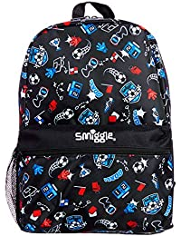 Smiggle Giggle Kids School Backpack with 2 Zipped compartments for Boys and Girls