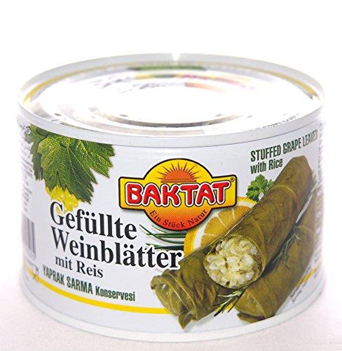 Preisvergleich Produktbild BAKTAT 400g Gefüllte Weinblätter mit Reis BAKTAT delikatessa