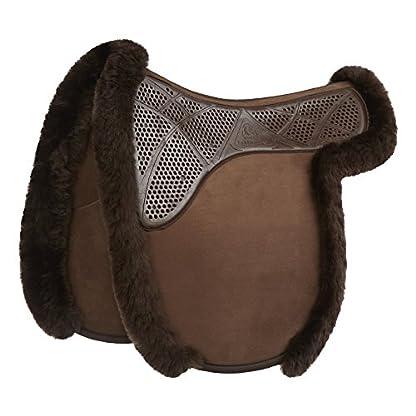 Acavallo Gel-Grip Showing Numnah Large Brown 1