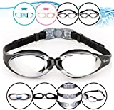 i-Swim Anti-Fog Watertight Swim Goggles with Crystal Clear Vision and UV Protection