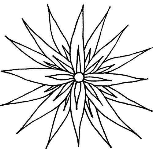 Azeeda A7 'Capolino' Timbro di Gomma Non Montato (RS00002248)