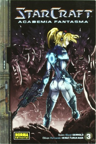 STARCRAFT ACADEMIA FANTASMA vol. 3 (CÓMIC MANGA) por David Gerrold