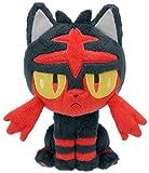 Pokemon Litten Plush Doll Stuffed Toy 19cm