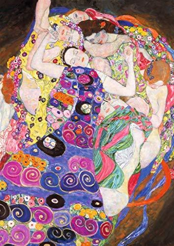 Ravensburger Italy Puzzle 1000 Pezzi Klimt: La Vergine, Multicolore, 4005556155873