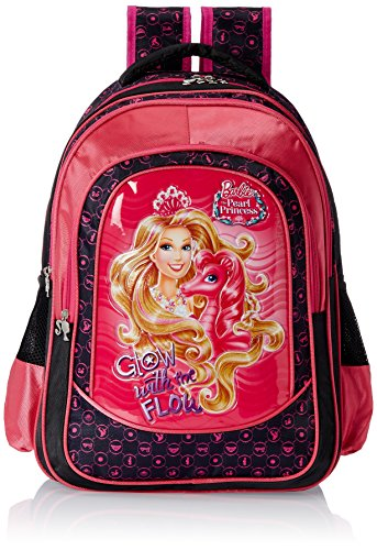 Barbie-Pink-and-Black-Childrens-Backpack-EI-MAT0023
