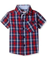 612 League Baby Boys' Regular Fit Cotton Shirt (Pack of 2)