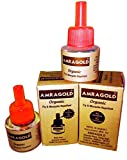 AMRAGOLD® Organic Fly and Mosquito Repellent Vaporizer - Pack of 6 Units