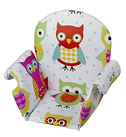 Geuther Coussin de Chaise avec Accoudoir PVC Chouette - Coloris