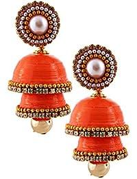 Halowishes Best Jewelry Offer | Orange Color Earring | Casual Wear Earring Party Wear Earring