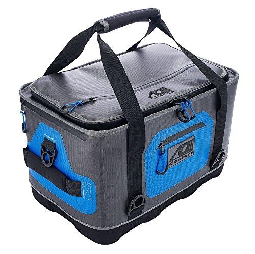 Ao coolers ibrido morbido/duro cooler con isolante ad alta densità (24pezzi), colore: blu/grigio