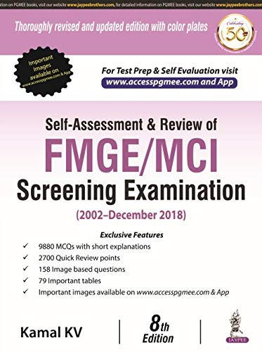 Self Assessment & Review of FMGE/MCI Screening Examination