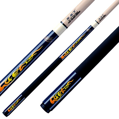 Cuetec Kinder Queue Fire CFD-1, blau,120cm, 3/8x14, Pool
