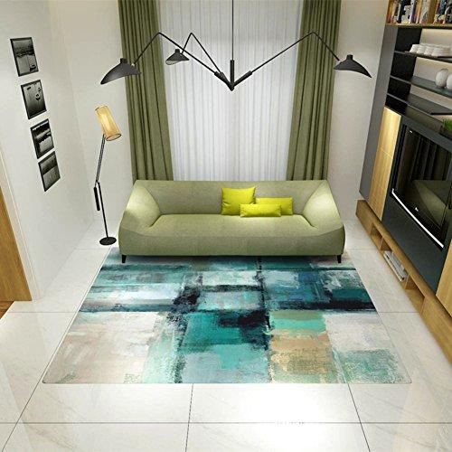 lililili Dekor teppiche,Abstrakte Tinte zeichnen Teppich,Kollektion traditionelle Heimat spielzimmer Anti-rutsch nordischen Stil Bereichs-wolldecke-A 120x160cm(47x63inch) -