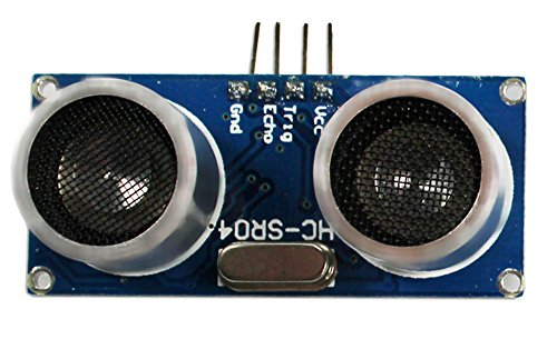 com-four® HC-SR04 Ultraschall Modul Entfernungsmesser Sensor für Raspberry Pi und Arduino (1 Stück)
