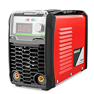 Greencut MMA-200 Poste à souder 200 A à Technologie DC Inverter turboventilé, Orange