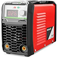Greencut MMA-200 Poste à Souder A à Technologie DC Inverter Turboventilé, Orange, 200 A