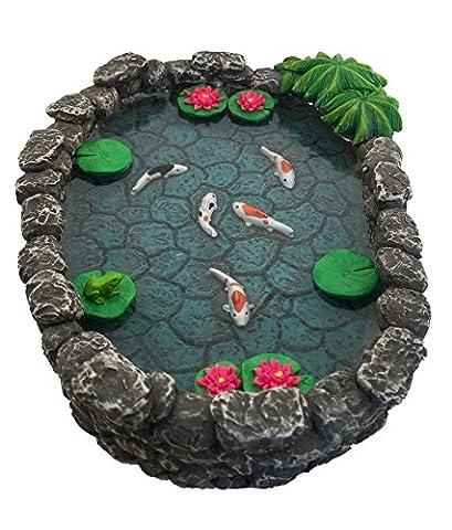 Mini bassin Koï – un mini bassin à carpes Koï