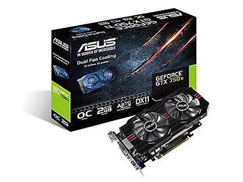 Nvidia Gtx 750 Ti - Asus GTX750TI-OC-2GD5 Carte Graphique Nvidia 2 Go