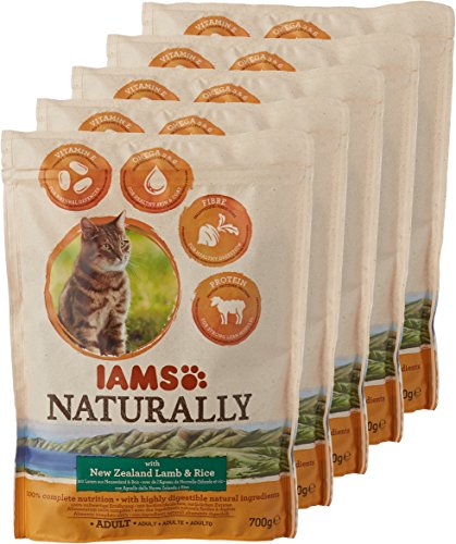 8in1 Iams Naturally Lamb Cat Food Dry Food for Cats with Natural Ingredients Sizes 3