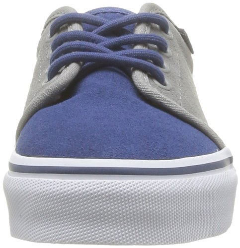Vans K 106 Vulcanized (fleece), Unisex-Kinder High-Top Sneaker Blau