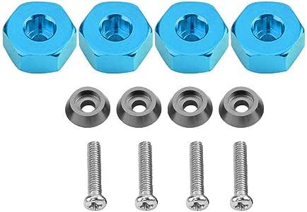 Blau Dilwe RC Auto Hex Hub Adapter 4 St/ück Aluminiumlegierung 6mm bis 12mm Rad Hex Hub Adapter f/ür WPL 1634 RC Truck RC Ersatzteil Zubeh/ör
