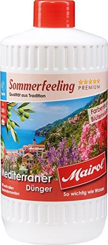 Mairol Mediterraner Dünger Sommerfeeling Liquid 1.000 ml